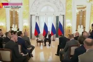 Владимир Путин провел встречу с руководителями российских промышленных предприятий