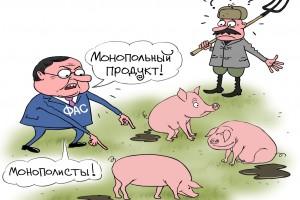 Свиноферма-монополист
