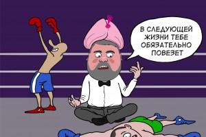Руководитель ФАС Игорь Артемьев обещал проигравшим в конкурентной борьбе воздаяние в следующей жизни